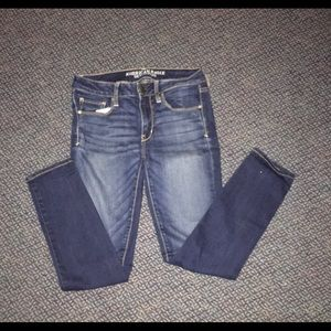 American Eagle Outfitters Dark-Wash Jeans